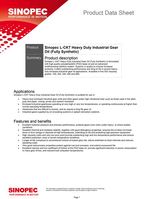 Microsoft Word - 46_Sinopec-L-CKT-Heavy-Duty-Industrial-Gear-Oil
